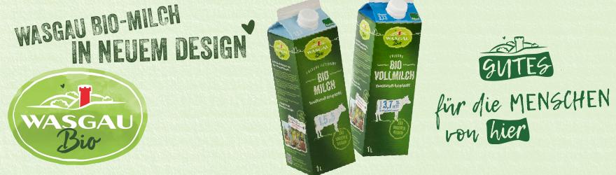 WASGAU Bio-Milch