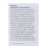 WASGAU Produktions & Handels AG – Cashback