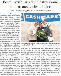 Bester Azubi aus der Gastronomie kommt aus Ludwigshafen