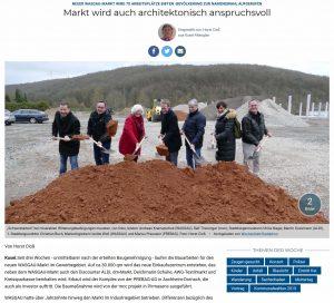 Markt wird auch architektonisch anspruchsvoll
