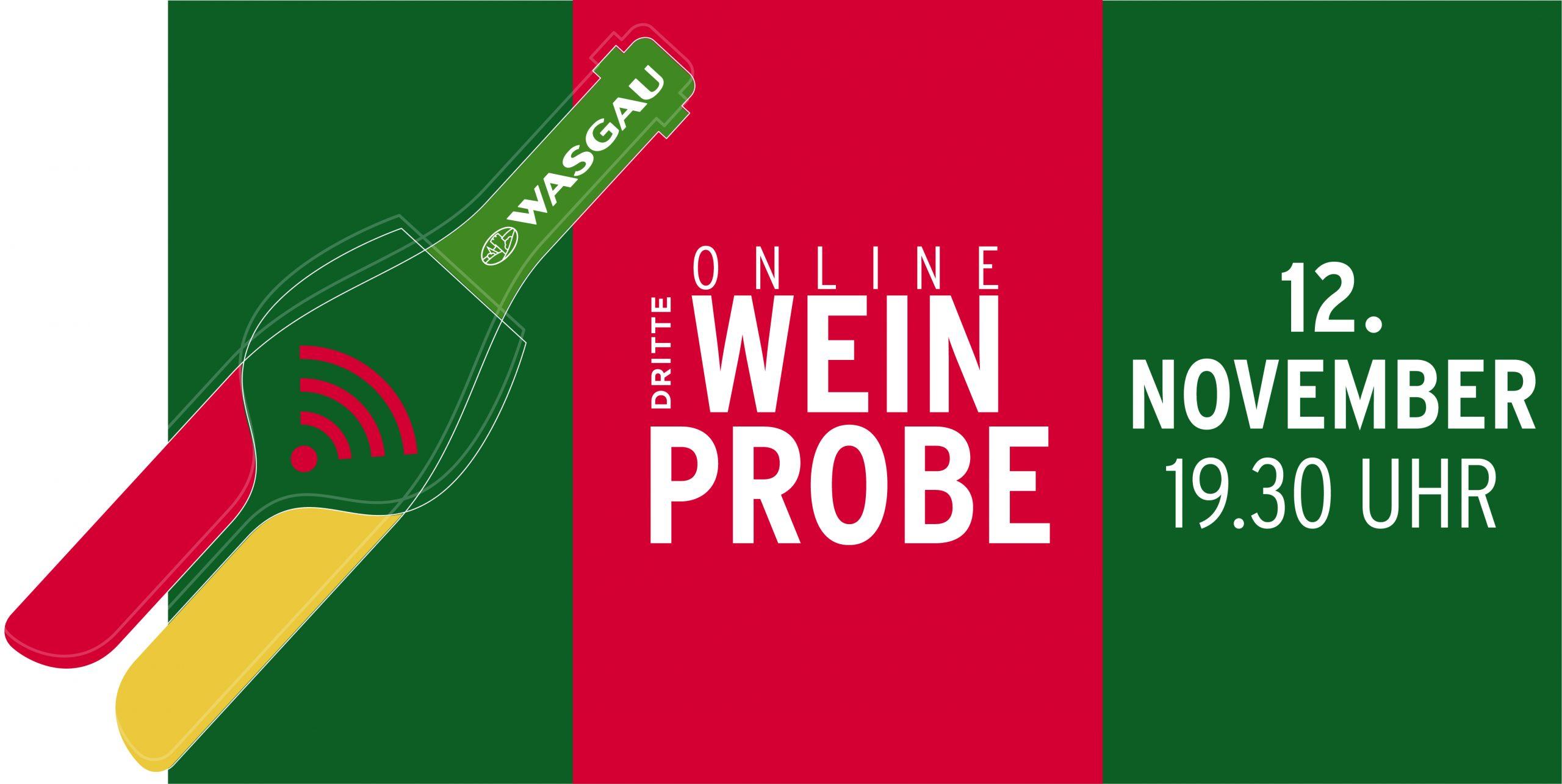 WASGAU Online Weinprobe November 2021