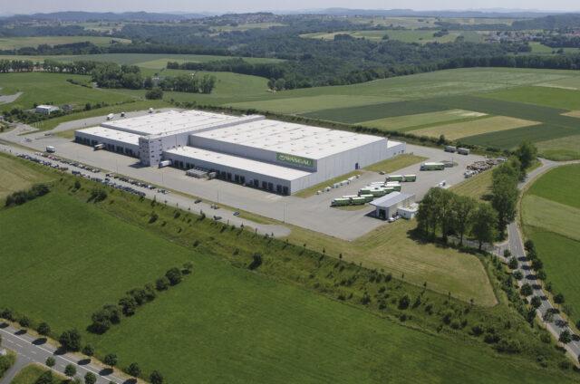 WASGAU Dienstleistungs & Logistik GmbH – Lagergebäude mit 350.000 cbm und einer Gesamt-Lagerfläche von 33.400 m²