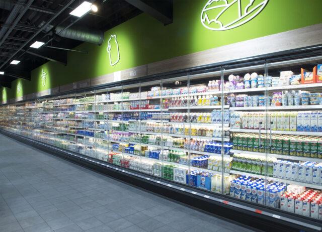 Frische und fruchtige Milchprodukte