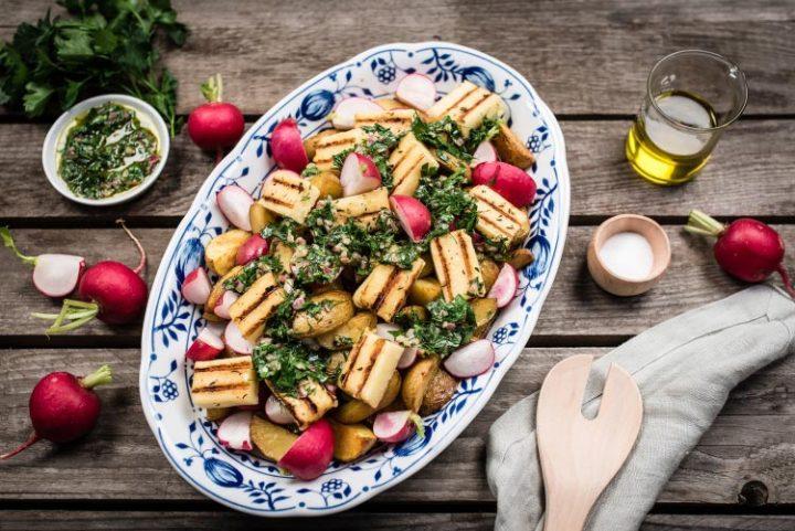 Ofenkartoffelsalat - Rezept Bild
